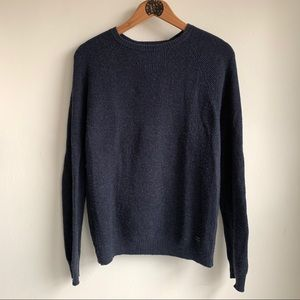 Lucky brand charcoal sweater size S EUC